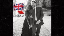 Meghan Markle Goes Full British Fashion for Engagement Photos
