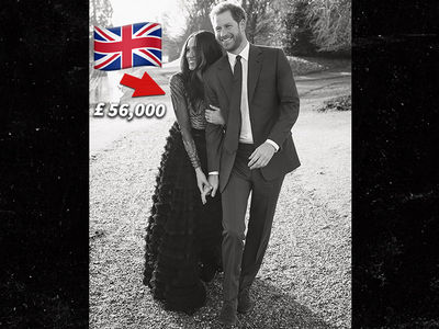 Meghan Markle Goes Full British Fashion for Engagement Photos