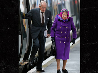 Queen Elizabeth Rides the Underground With Prince Philip