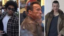 Tyga, Arnold Schwarzenegger Among Last-Minute Celeb Christmas Shoppers