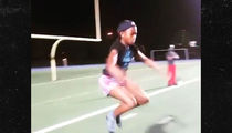 Chad Johnson's Daughter Cha'iel Nukes Insane Workout at 12 Years Old