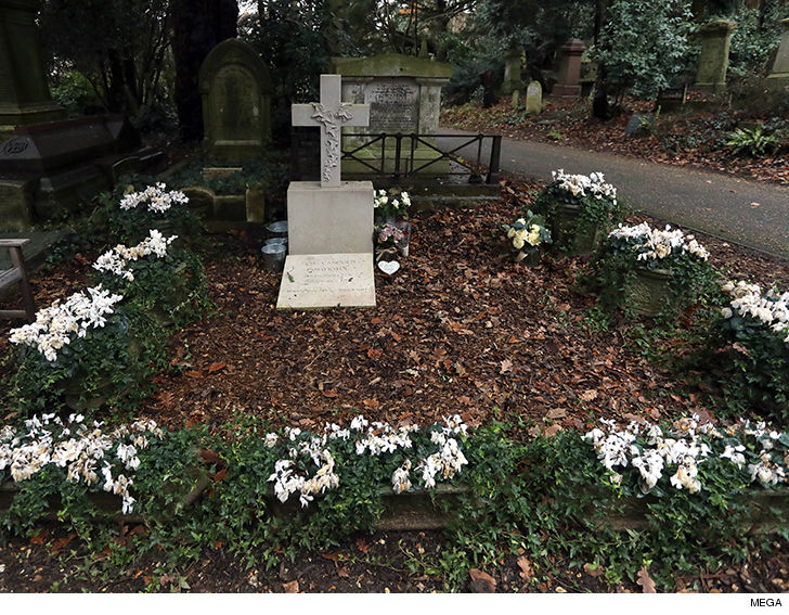 George Michael D A Year Ago To The Day And His Grave Is Still Unmarked