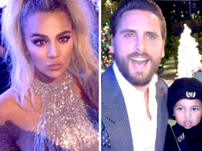 Kardashian Christmas Eve Party Brings Scott Disick and Kourtney's BF Younes Together
