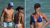 SI Model Chase Carter And Olympian BF Flaunt Abs & Ass In Miami