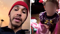 Lewis Hamilton Shames Nephew For Wearing Princess Dress (UPDATE)