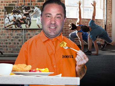 Joe Giudice's New Prison is Like a 4-Star Resort Behind Bars