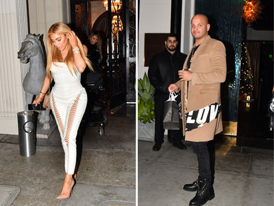 Stephen Belafonte Isn't Dating Nikki Baby, Christmas Dinner Was Business