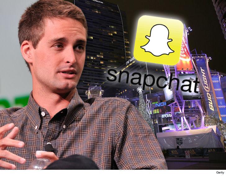 White Wash Spiegel : Snapchat & ceo evan spiegel drop $4 million to rent l.a. live for