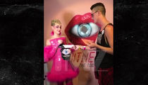 Katy Perry Fan Follows Through, Has Custom 'Witness' Dog Outfit Delivered