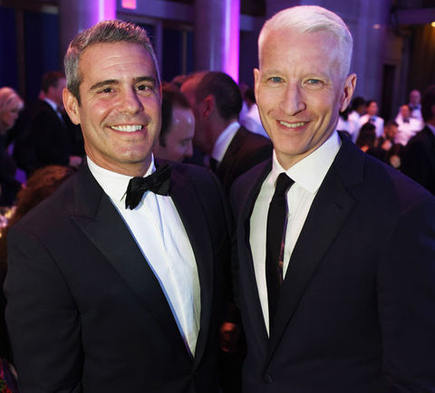 Andy Cohen (49) vs. Anderson Cooper (50) -- NYE Host Edition