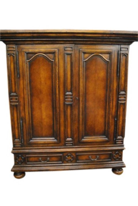 Dark Oak Cabinet -- estimated: $300 - $600
