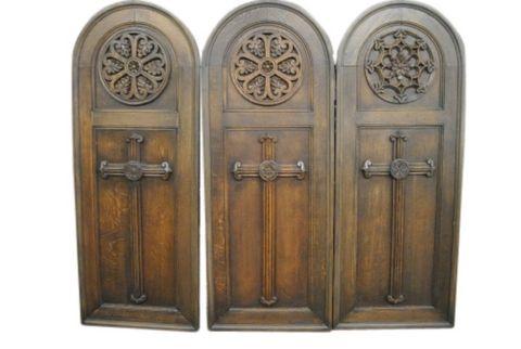 Antique Gothic Panels -- estimated: $300 - $600