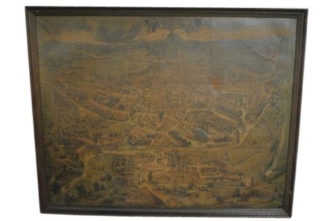 Antique Gent City Map -- estimated: $400 - $800