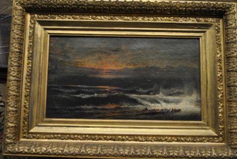 Antique Seascape Painting -- estimated: $300 - $600