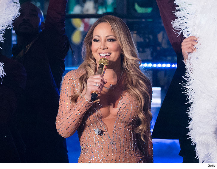 Mariah Carey Nails Rehearsal, Soundcheck for New Year\'s Eve ...