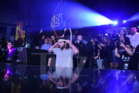 Alesso spinning on NYE at STORY in Miami