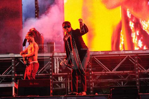 Rae Sremmurd performing at Fontainebleau Miami Beach