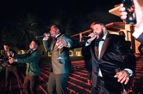 Diddy and DJ Khaled performed