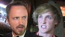 Aaron Paul Blasts Logan Paul, 'Go Rot In Hell'