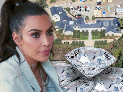 Kim Kardashian Won't Keep Any Jewelry in New Home