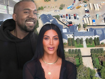Kim Kardashian and Kanye West Profit By $20 Million on Hidden Hills Mansion