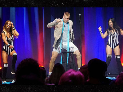 Rob Gronkowski: I'm a Comedian Now ... On Showtime!