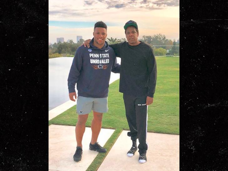 d7d411cbcb51 Jay-Z Signs Saquon Barkley to Roc Nation Sports