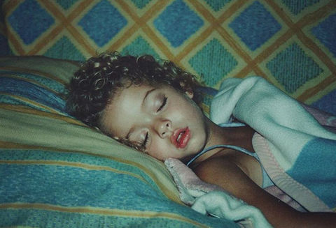 Before this pretty little snoozer was woke on a hit TV show, she was just another curly-haired cutie resting up in Las Vegas, Nevada