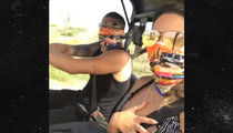 UFC's Anthony Pettis & Hot New Fiancee Off-Roadin' on Aruba Vacay
