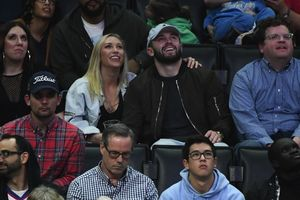 Celebrities At The Clippers VS Grizzlies Game