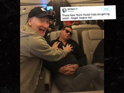 Bill Maher and Bob Saget Mock Al Franken Groping Photo