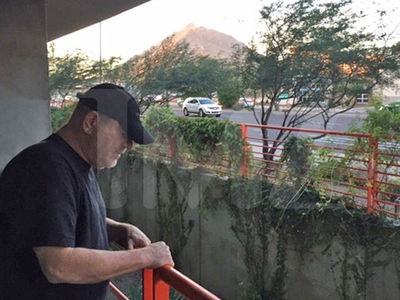 Harvey Weinstein in Arizona Despite Rumors He's Back in L.A. for 'Golden Globes'
