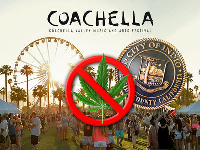Coachella Not Changed by CA Marijuana Law, Still No Smoking Policy