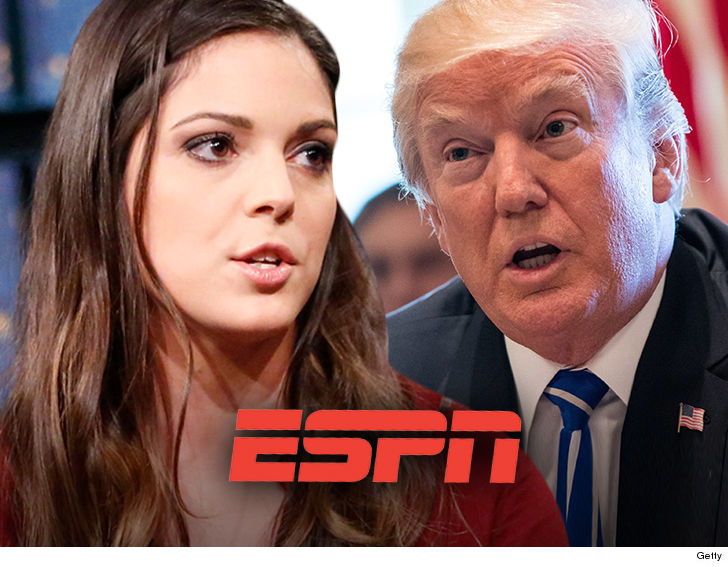 ESPN will NOT suspend Katie Nolan after she called Donald Trump a