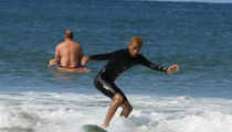 Jaden Smith Tries Mastering Art of Surfing in Hawaii