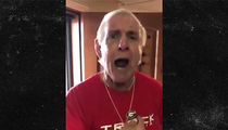 Ric Flair: I Love Julio Jones, But Georgia's Gonna Beat Bama's Ass!!!