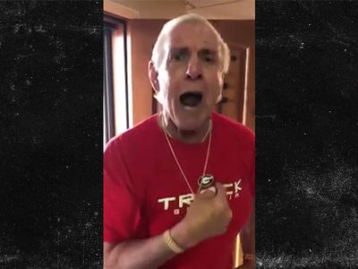 Ric Flair: I Love Julio Jones, But Georgia's Gonna Beat Bama's Ass!!!