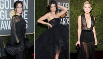 Golden Globes 2018 Draped in Black for 'Time's Up' Movement