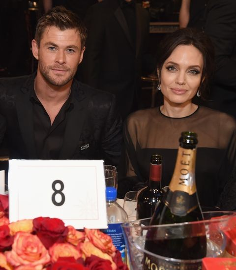 Chris Hemsworth and Angelina Jolie