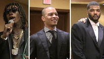 Wiz Khalifa, T.I. and Josh Smith Honored for Hooking Up Kids with Gear, Cash