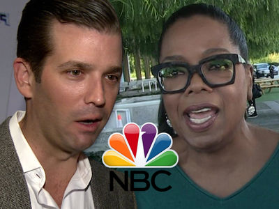 Donald Trump Jr. Pissed at NBC Pushing Oprah for Prez (UPDATE)
