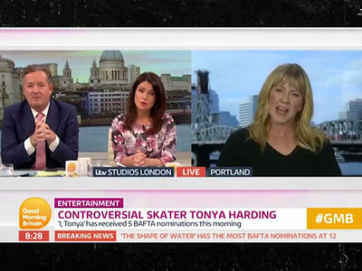 Tonya Harding Gets Pissed at Piers Morgan Over 'Real Victim,' Her or Nancy Kerrigan