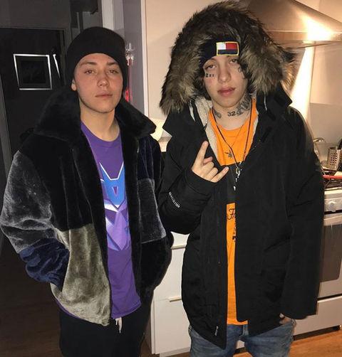 Ethan Cutkosky (18) vs. Lil Xan (21) -- Doppelgänger Edition