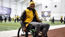 Ryan Shazier Visits Steelers Practice, 'Working Hard to Get Back'