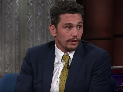 James Franco Denies Sexual Misconduct Accusations on Colbert's Show