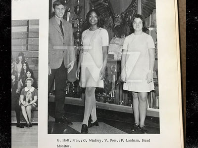 Oprah's Got Presidential Experience Already ... From High School