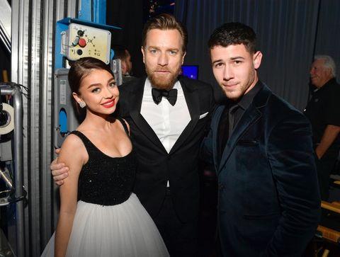 Sarah Hyland, Ewan McGregor and Nick Jonas