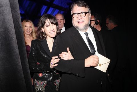 Sally Hawkins and Guillermo del Toro