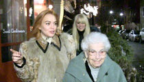 Lindsay Lohan Celebrates Grandma's 94th Birthday