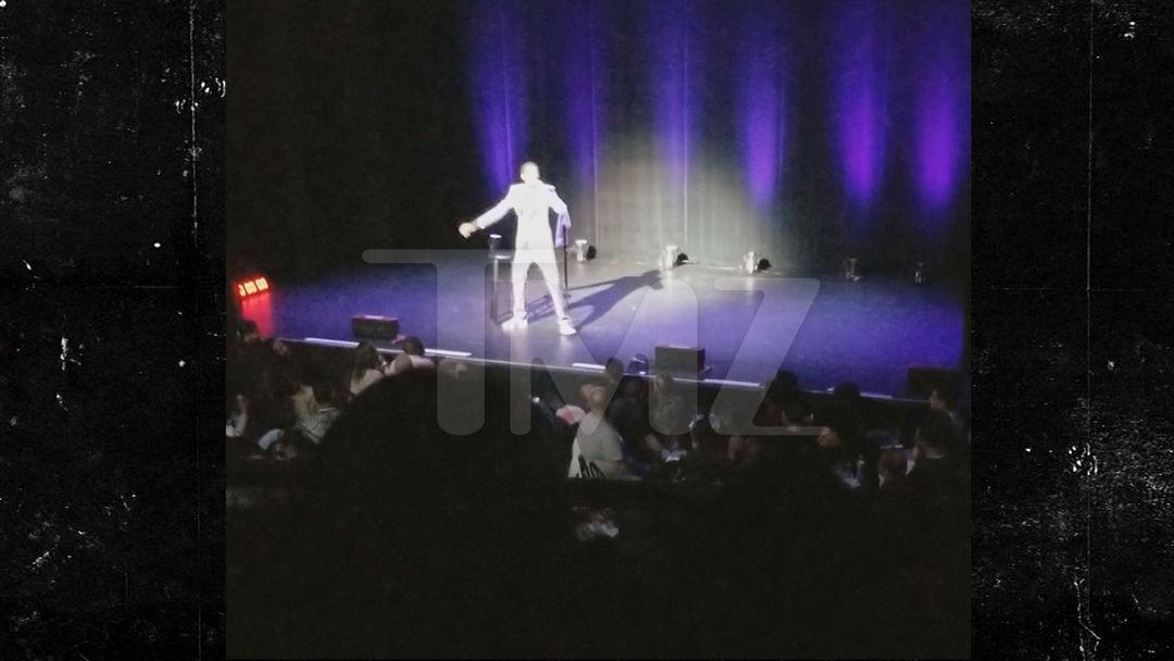Video thumbnail Comedian Michael Blackson Escalates Beef